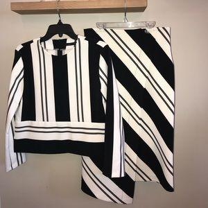 Shirt and blouse set